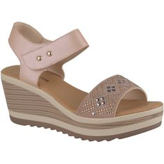 Platanitos spw 3554Sandalia Cuña de Mujer Girls Sandals, Women's Shoes Sandals, Wedge Sandals, Wedge Shoes, Kid Shoes, Me Too Shoes, Beautiful Shoes, Shoe Collection, Comfortable Shoes
