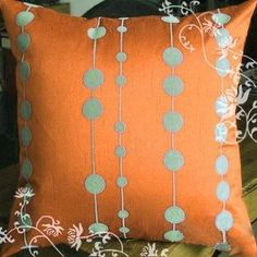 Elleweideco Modern Color with Flocking Dots Throw Pillow Cover (Orange) Elleweideco http://www.amazon.com/dp/B00AKZ8X0E/ref=cm_sw_r_pi_dp_qkyvub0MFRYKE