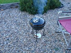 As anyone in grilling circles knows, Weber grills set the benchmark. I've had several over the years, and still have the Smokey Joe model wh. Portable Smoker, Bbq Grill, Grilling, Bbq Table, Smokey Joe, Outdoor Projects, Outdoor Decor, Tall Boys, Weber Grills