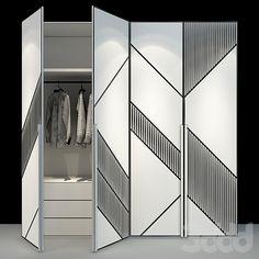 Wardrobe Laminate Design, Wardrobe Door Designs, Wardrobe Doors, Hall Interior Design, Apartment Interior Design, Bedroom Door Design, Bedroom Furniture Design, Small Bedroom Wardrobe, Conference Room Design