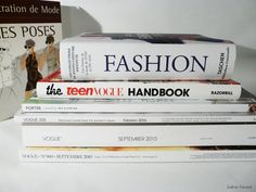 One of the biggest source of inspiration of the fashion industry. You can find everything in books and magazines, you can learn a lot from them. Buying books and magazines from other countries is also a very good way to travel cheaper and still have an idea of what's out there.