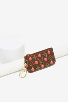 Vintage Louis Vuitton Cherries Leather Coin Purse