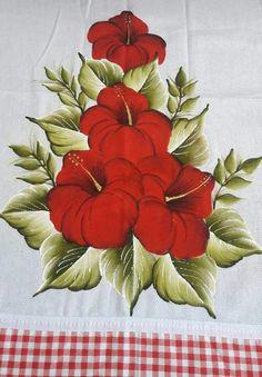 Las 499 Mejores Imágenes De Pintura En Tela Flores
