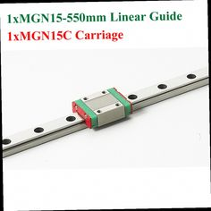 49.53$  Watch here - http://alilvx.worldwells.pw/go.php?t=32733116860 - MR15 15mm Mini Linear Guide 550mm MGN15 Linear Motion Rail With MGN15C Linear Block Cnc Kossel