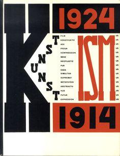 芸術のイズム1914-1924 Die Kunstismen: 1914-1924/El Lissitzky, Jean Arp(リシツキー、アルプ)‹‹古書 古本 買取 神田神保町・池袋 : 夏目書房