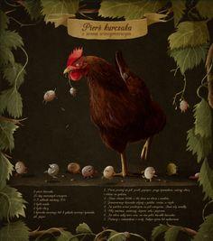 Przepis na kurczaka, Emilia Dziubak http://emiliaszewczyk.blogspot.com/