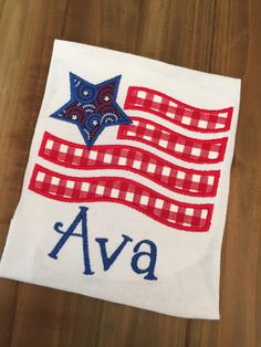 A personal favorite from my Etsy shop https://www.etsy.com/listing/291417249/wavy-american-flag