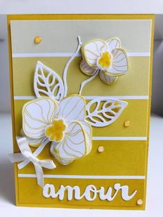 Stampin' Up! Color Theory Paper with the Climbing Orchid bundle
