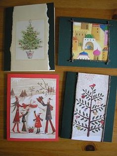 I hate the idea of hundreds of thousands of Christmas cards just being tossed in the trash. And while most of them can be recycled, I came u. Christmas Card Crafts, Diy Holiday Gifts, Old Christmas, Christmas Cards To Make, Homemade Christmas Gifts, Holiday Crafts, Christmas Decorations, Old Greeting Cards, Old Cards