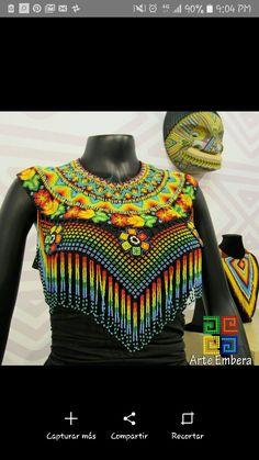 Collar Redondo, Beaded Jewelry, Beaded Necklace, African Paintings, Beaded Collar, African Jewelry, Boho, Beading Patterns, Beadwork