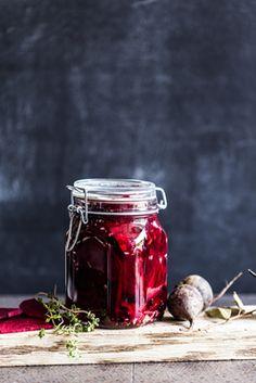 Syltede rødbeder med peberrod
