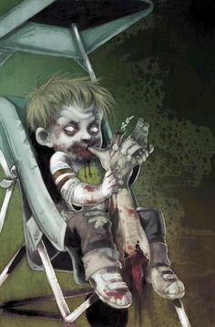 Cover art from Zombie Tales Arte Zombie, Zombie Kunst, Zombie Art, Dead Zombie, Zombie Crafts, Zombie Pics, Arte Horror, Horror Art, Horror Movies