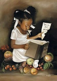 You Are What You Eat (Female) by Edwin Lester | The Black Art Depot
