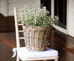 5 ideias para usar mosquitinho na decoração do casamento