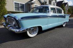 1956 Nash Ambassador Custom 4-Door Sedan