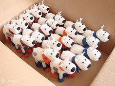 Podarёnka: Crochet fawns