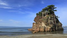 Inansanohama Beach, Izumo, Japan  Courtesy the Travel Channel website