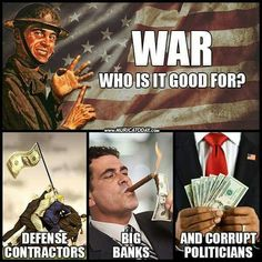 It's no longer about freedom. That concept ended after WWII. It's all about control of resources, contracts and billions in profits. The very fact that our incredible warriors are being used as cannon fodder for a small group of people's greed infuriates me