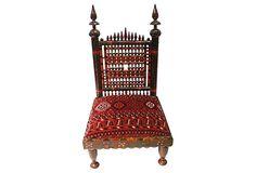Punjabi Indian Wedding Chair on OneKingsLane.com