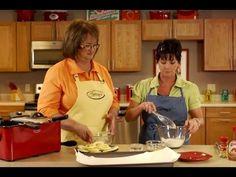 Deep Fried Apple Rings Recipe - YouTube