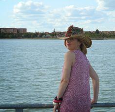 @Laurel Jones #handbag #señoretta #dress #hat #bag #dress #details #beachwear #imwearing #fashion #fasionstyle #womanfashion #womanstyle #summer2015 #summer #summertime #sun #hot #stylebook #oodt #sandals #spring #cachemire #sea