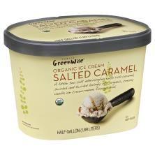 Publix GreenWise Ice Cream, Organic, Salted Caramel #contest