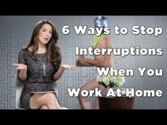 Distracted? 6 Ways to Stop Interruptions When You Work At Home | Savvy Social Media 4U | Michelle Arbore
