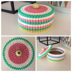 Box hama beads by Tina Cofrancesco