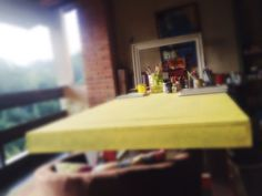 Atelier mesa de trabalho ☕️