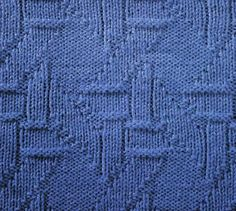 How To Follow Knitting Pattern Chart : Knit and purl stitch patterns on Pinterest Knitting Stitches, Knitting Stit...