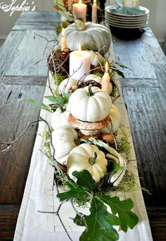 Thanksgiving Table Decoration Ideas - Thanksgiving Centerpieces