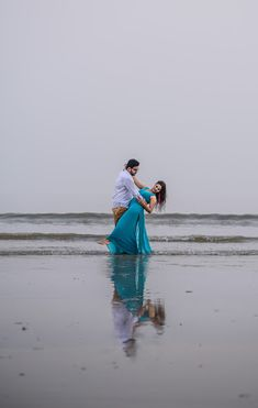 """Photo from VERVE """"Portfolio"""" album - Love Story Shot - Bride and Groom in a Nice Outfits."""