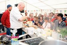 Seafood demo which showed the trade secrets to prepare fish and seafood by the Brasserie On The Corner at Galway Food Festival. Photo by John Walsh