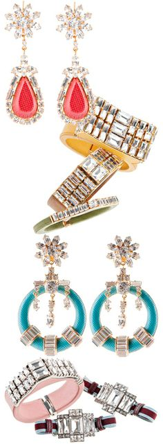 Who knew Prada made such gorgeous jewelry!?