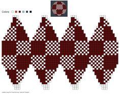 created using Schachenmayr Designer by Pawel Dolatowski Tapestry Crochet Patterns, Bead Loom Patterns, Square Patterns, Cross Stitch Patterns, Knit Christmas Ornaments, Christmas Charts, Christmas Knitting, Crochet Ball, Bead Crochet