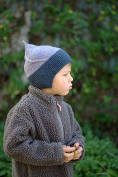 Woolly Wormhead - Alfur - childs pixie Hat knitting pattern