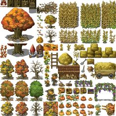 Autum Set by SchwarzeNacht on DeviantArt