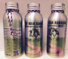 1. H&H Beauty olej na odstránenie chĺpkov 100ml