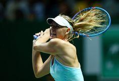 Maria Sharapova Photos - BNP Paribas WTA Finals: Singapore 2015 - Day Three - Zimbio