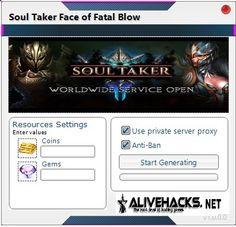 Soul-Taker-Face-of-Fatal-Blow-hack Private Server, Hacks, Tips