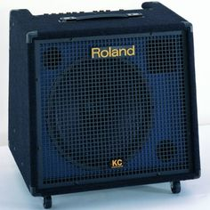 Roland 180W KC-550 Keyboard Amplifier by Roland. $649.00. The KC-550 boasts 180 watts of powerful sound via a 15-inch speaker and horn tweeter. In addition to its four input channels, this flagship amp includes an Output Select switch for selecting the monitor sound destination, a Shape switch for quick sound adjustment and an XLR Line output for direct connection to a mixing console.. Save 24%!