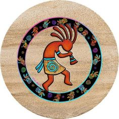 Desert Canyon Gifts presents a selection of Southwest Coasters. Beverage coasters are made of sandstone and really stop the drip. Southwestern Art, Southwest Decor, American Indian Art, Native American Indians, Arte Tribal, Indian Crafts, Collaborative Art, Gourd Art, Aboriginal Art