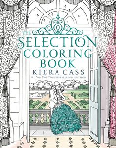 The Selection Coloring Book cover reveal via Epic Reads - on sale December 27, 2016!