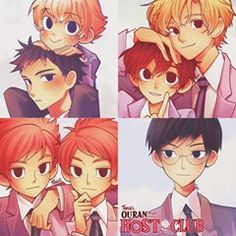 Beautiful Drawings, Cute Drawings, Anime Dubbed, Ouran Host Club, Ouran Highschool, High School Host Club, Anime Fantasy, Mystic Messenger, Manga
