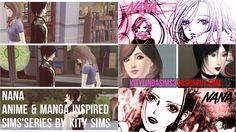 NANA anime & manga Sims 3 series https://kitylindasims3.blogspot.com.br/2016/07/8-nana-anime-manga-simspired-series.html