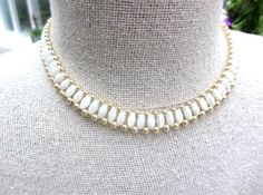 Italian Mother of Pearl Shell Necklace w Bracelet от OurBoudoir
