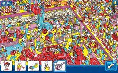 Where's wally game