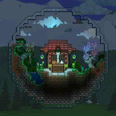 Terraria House Design, Terraria House Ideas, Minecraft Designs, House Drawing, Glass Terrarium, Creature Design, Map Art, Pixel Art, Painting & Drawing