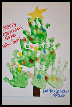 christmas hand crafts for kids