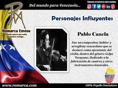 Pablo Canela fue un #Compositor , luthier y arreglista #Venezolano que se destacó como ejecutante del violín, dentro del género de #MúsicaFolclórica denominada Golpe #Tocuyano . En Romarca ofrecemos nuestras tasas de cambio a las 04:00pm 🕘 hora Este #Usa 🔛 #Venezuela 6401bsf/$ 7192bsf/€. 📍Visita nuestro sitio web para más información. #Usa  #Florida #Miami #Madrid #Japon #China #Chile #RomarcaEnvios